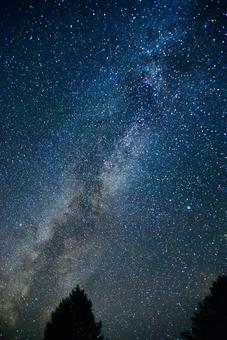 Midsummer Milky Way and Large Triangle 9