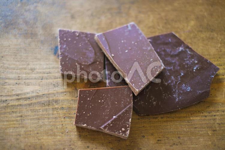 製菓用チョコレートの写真