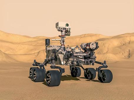 Image of Mars probe Perseverance