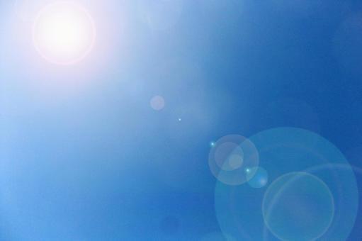 Summer blue sky # 2