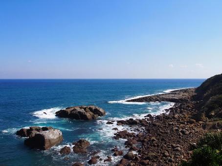 미야자키의 바다