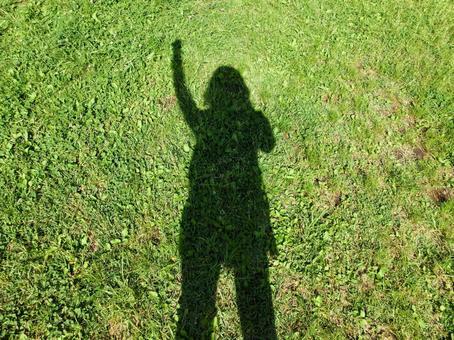 Motivational people in green lawn 1