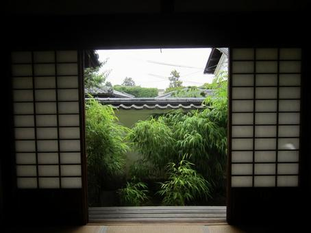 Garden view from the Japanese-style room