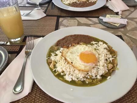 墨西哥美食chilaquiles