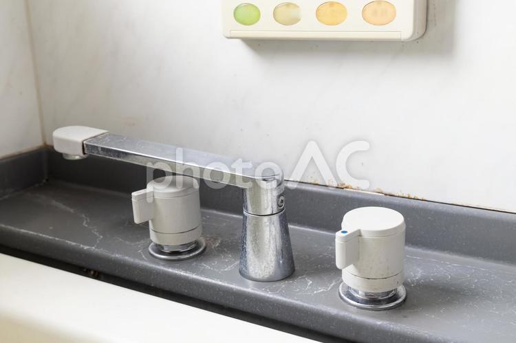 風呂の水垢の写真