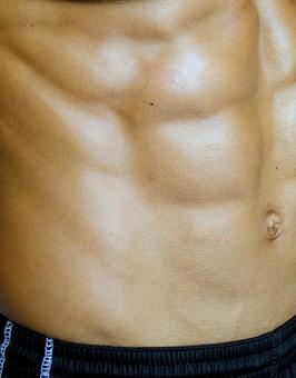 Athlete's abdominal muscle 4