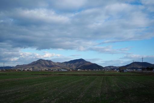 시골의 전원 풍경