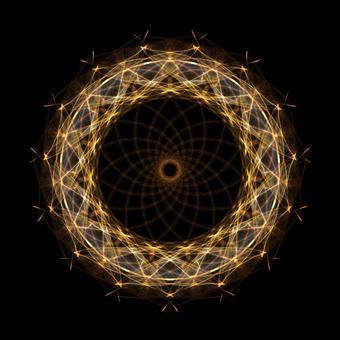 Circle shape art 162