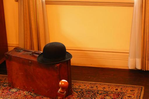 Travel bag and hat