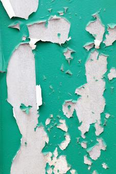 벗겨지는 페인트 벽 배경