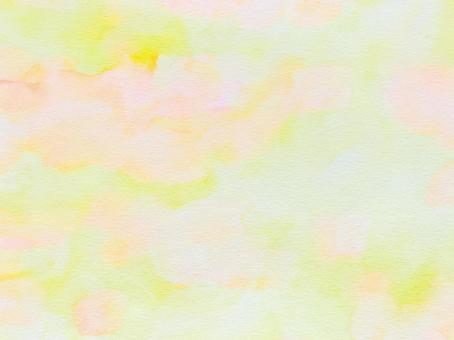 Yellow watercolor paper texture