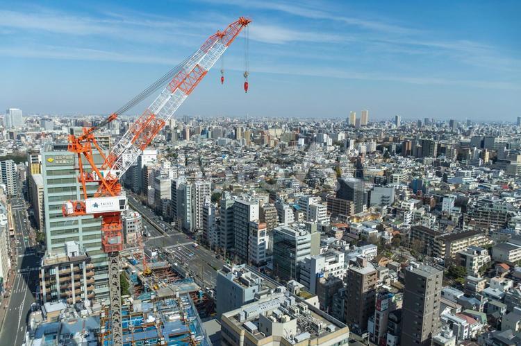 文京シビックセンターからの眺めの写真