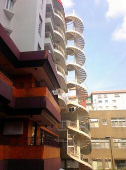 Staircase 23 - spiral staircase