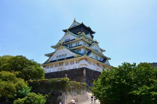 오사카시의 성 (8)