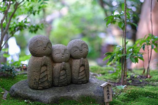 Healing of cute Jizo