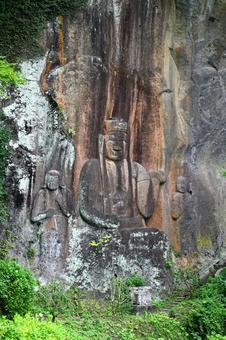 "Fukou-ji Temple ""Makaibutsu"""