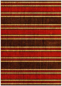 Grunge texture Oriental border red