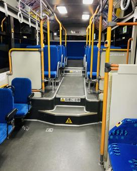 Inside an unmanned bus (2)