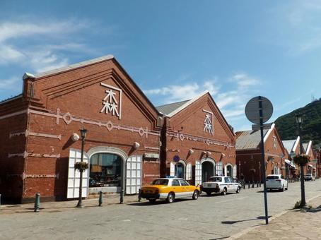 Hakodate Kanamori Red Brick Warehouse