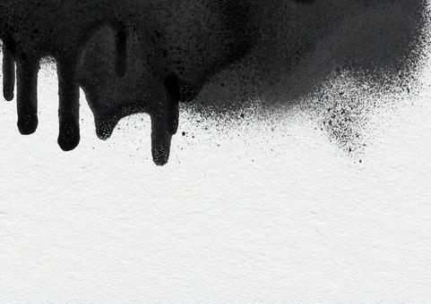 Background Texture Paint Ink Splash Brush Splash White Black Paint Frame