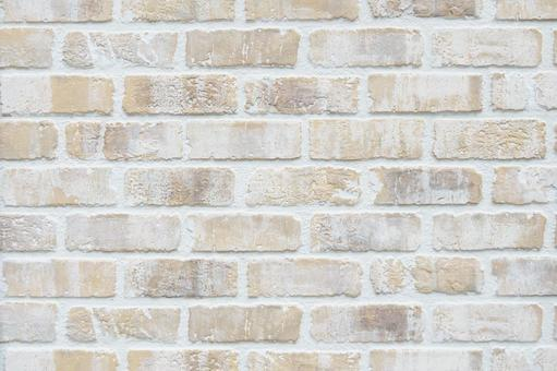 Pale brick tiles   antique wall background material