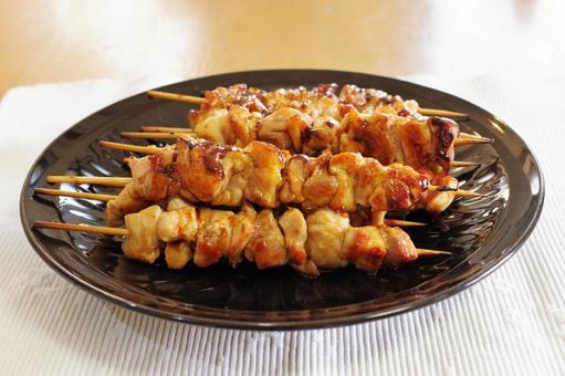 수제 꼬치 구이 (양념 맛)