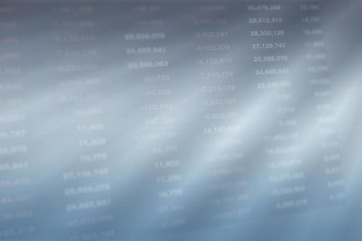 Numeric chart / stock price / exchange / economy, business background image