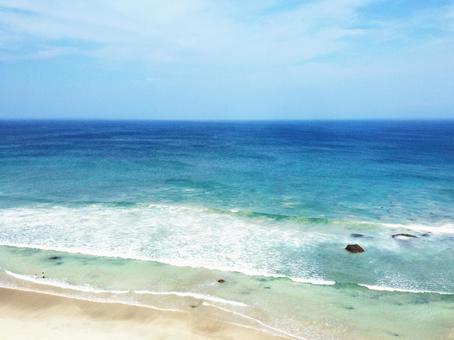 중 · 시라하마의 바다