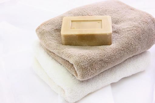 Towels and soap 2