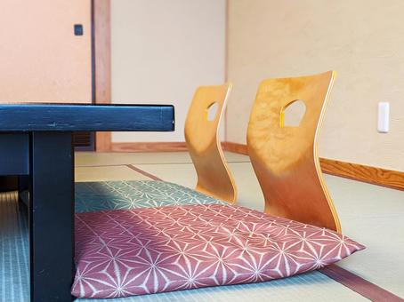 Japanese-style room at the inn Part 1
