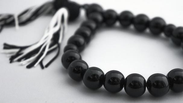 Rice ball rosary