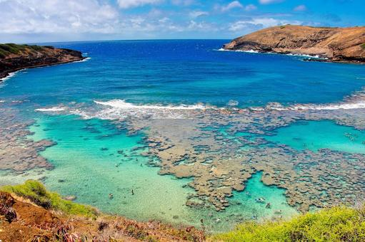 United States of America Hawaii State of Oahu Hanauma Bay