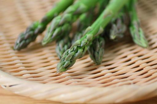 Fresh asparagus onion 1