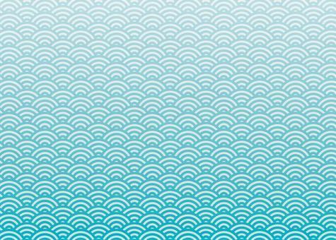 Qinghai wave・blue green