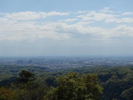 산에서 도쿄를 내려다 _ver4