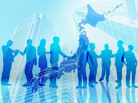 Japanese Business Network-Multiple Businessmen