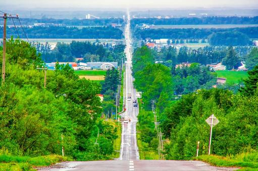 Shiretoko Shari The road leading to the heavens