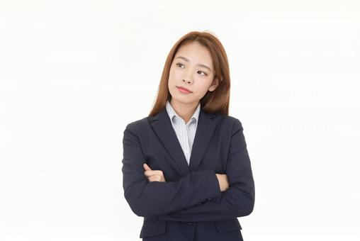 Think business office lady