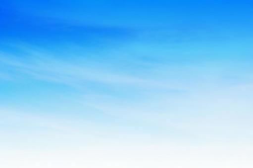 Blue sky gradation