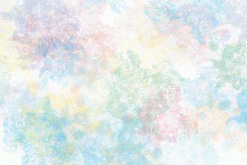 多彩的水彩背景