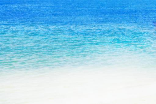 Blue sea_front