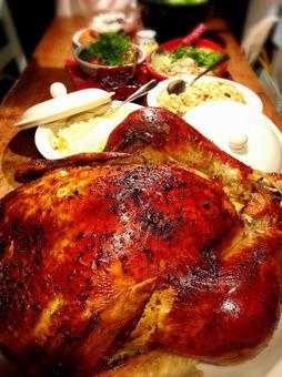 Christmas Turkey roast bake Christmas party
