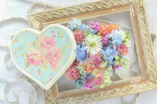 Flower-filled heart