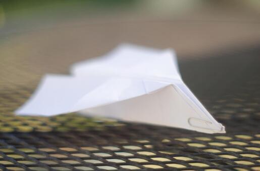Paper flying machine 122