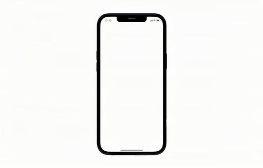 Smartphone PSD transparent material with time charge