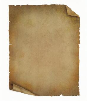 肮脏的废纸与通行证