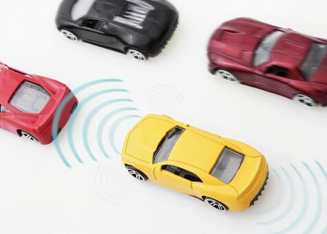 Image of automatic driving / drive assist