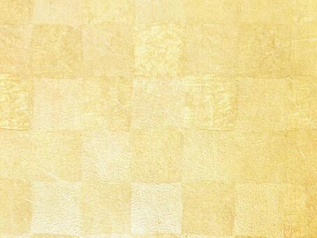 Large golden checkered pattern