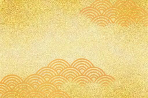 和柄青海波