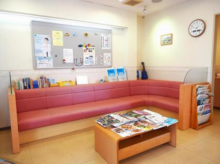 Dental clinic⑪ Orthodontics Dentist Waiting room Orthodontics
